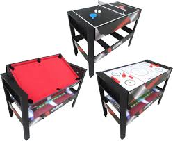 triumph 4 in 1 game table triumph 48 4 in 1 rotating game table s sporting goods