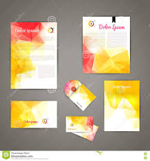 Business Card And Letterhead Design Template Corporate Brand Business Identity Design Template Layout Letter
