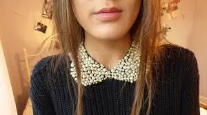 neck collar necklace images Diy peter pan collar necklace jpg