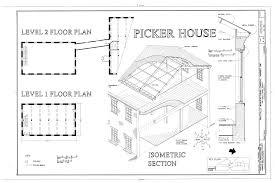 file isometric section level 1 floor plan level 2 floor plan of