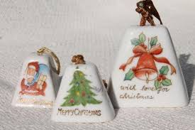 vintage japan painted china ornaments mini