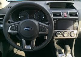 subaru crosstrek interior leather review 2016 subaru crosstrek 2 0i premium your frugal crossover