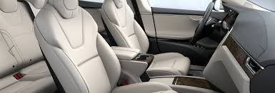Tesla Interior Model S Cream Interior U2013 2017 Tesla Model S 75d U2013 Joe Carr
