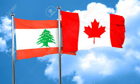 Libanese Flag Lebanon Flag With Canada Flag 3d Rendering Stock Photo Picture