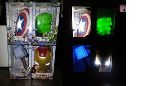 Avengers Wall Lights Wts 3d Deco Light Brand New Buy Sell Trade Preloved Items