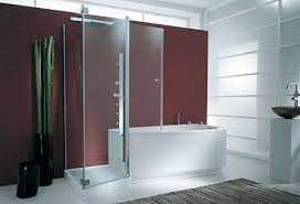 Shower And Tub Combo For Small Bathrooms Bathtubs Corner Bathtub Shower Combo Small Bathroom Corner Bath