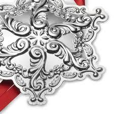 snowflake ornament part 29 grande baroque snowflake