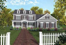 collection colonial house plans with porch photos home