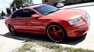 outrageous audi a8 on 24