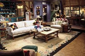 can you name the tv show from the living room