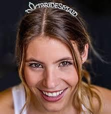 rhinestone headbands rhinestone bridesmaid headband the house of bachelorette