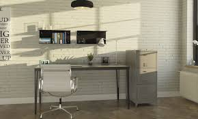 Design Home Office by Metal Desk Industrial Design Industrial Home Office Atepaa