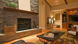 fireplaces pacific crest granite with lava rock fireplace 21098