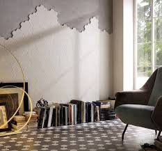 Off White Walls by Funky Wall Tiles From Solus Ceramics In Off White From The Global