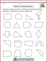 identify 3d shapes 1 a 3 d shapes worksheet to help identify a