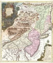 New Jersey New York Map by File 1756 Lotter Map Of Pennsylvania New Jersey New York