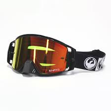 goggle motocross dragon new mx nfx2 podium black injected red ion motocross dirt