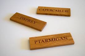 engraved wooden door name plates makemesomethingspecial