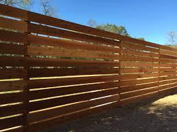 6 u0027h horizontal cedar semi privacy on 4