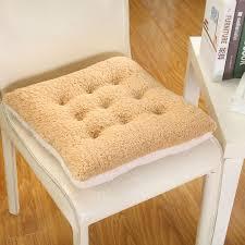 camo fleece seat cushion square chair pad cushion pearl cotton