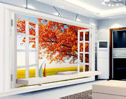 outside the window autumn landscape fashion hd 3d tv wall mural 3d outside the window autumn landscape fashion hd 3d tv wall mural 3d wallpaper 3d wall papers for tv backdrop beach wallpaper beach wallpapers from