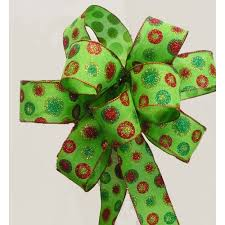 wired christmas ribbon stylist designer christmas ribbon strikingly green burlap with wired