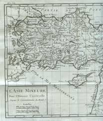 Asia Minor Map by Ottoman