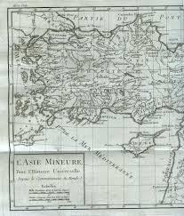 Asia Minor Map Ottoman