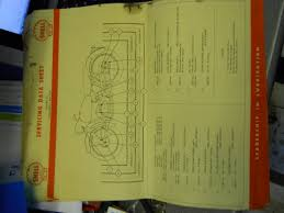shell lube service charts for sale c j enterprises classic