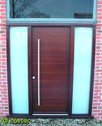Wood Exterior Front Doors by Front Doors Contemporary Wood Entry Doors With Glass