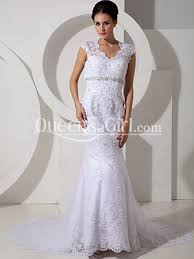 non strapless wedding dresses mermaid trumpet sweetheart scalloped edge waist cap