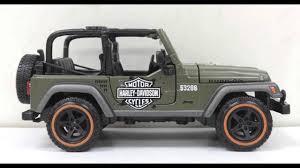 jeep wrangler models list jeep wrangler rubicon harley davidson 1 27 maisto youtube