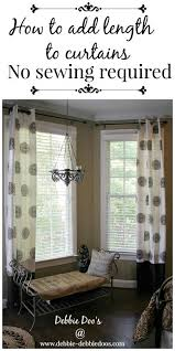 How To Sew Grommet Curtains With Lining Best 25 Sewing Curtains Ideas On Pinterest How To Sew Curtains