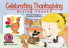 celebrating thanksgiving giving thanks learn to read reader
