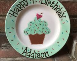personalized birthday plate personalized birthday plate cricut birthday plate
