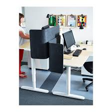 Ikea Sit Stand Desk Bekant Desk Sit Stand White Ikea