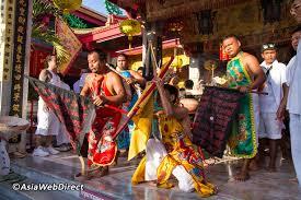 Fiesta Of Five Flags Phuket Vegetarian Festival 2018 Nine Emperor Gods Festival In Phuket