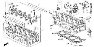 2003 honda civic ex parts honda store 2003 civic cylinder sohc vtec parts