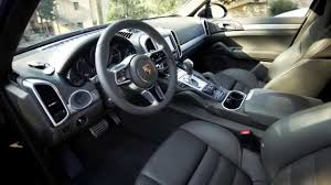 porsche cayenne interior the new porsche cayenne s diesel in black interior design