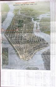 Old Map New York City by Prints Old U0026 Rare New York City