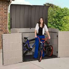 lifetime horizontal costco storage sheds with secure garden