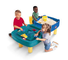 little tikes easy adjust play table little tikes easy store sand and water table qvc com