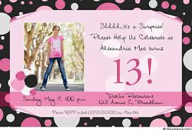 13th birthday invitations badbrya com