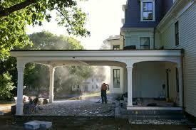 adding a porte cochere fine homebuilding