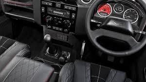 kahn jeep interior land rover defender harris tweed edition by kahn design