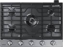 Westinghouse 5 Burner Gas Cooktop Samsung Na30k6550ts 30 Inch Gas Cooktop With 5 Sealed Burners