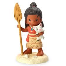moana pua figurine precious moments shopdisney