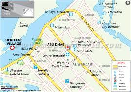 map of abu dabi heritage abu dhabi uae map location timings fee tour