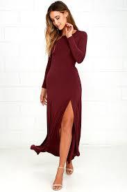 sleeve maxi dress chic burgundy dress maxi dress sleeve dress 64 00