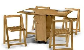 Collapsing Dining Table Folding Dining Table And Chairs Set Dining Tables Regarding